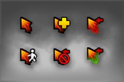 纯正 2015年亚洲邀请赛混沌骑士主题鼠标指针Genuine DAC 2015 Chaos Knight Cursor Pack