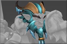 冰川残骸劫掠者头饰Head of the Icewrack Marauder