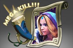 连杀配音:水晶室女Mega-Kills: Crystal Maiden