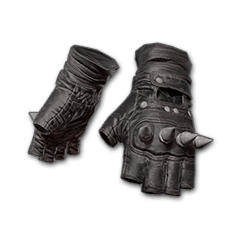 Punk Knuckle Gloves (Black)