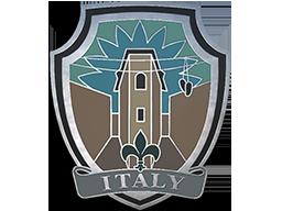 意大利小镇胸章Italy Pin