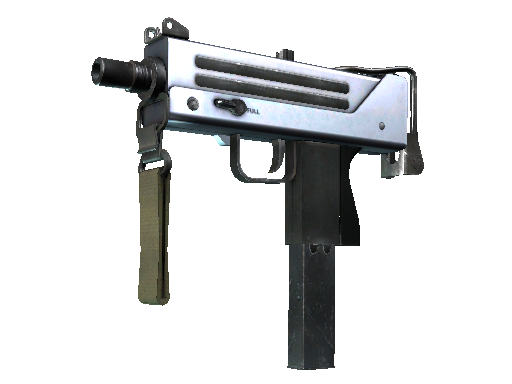 MAC-10 | 银质 (崭新出厂)MAC-10 | Silver (Factory New)