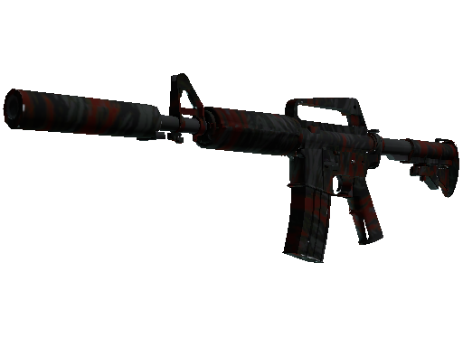 M4A1 消音型 | 血虎 (略有磨损)M4A1-S | Blood Tiger (Minimal Wear)