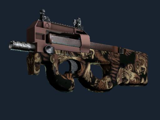 P90   困兽之斗 (崭新出厂)P90   Tiger Pit (Factory New)