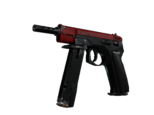 CZ75 自动手枪 | 深红之网 (久经沙场)CZ75-Auto | Crimson Web (Field-Tested)