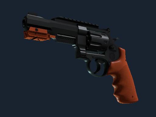 R8 左轮手枪(纪念品) | 氮化处理 (略有磨损)Souvenir R8 Revolver | Nitro (Minimal Wear)