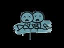 封装的涂鸦   双杀 (群青)Sealed Graffiti   Double (Wire Blue)