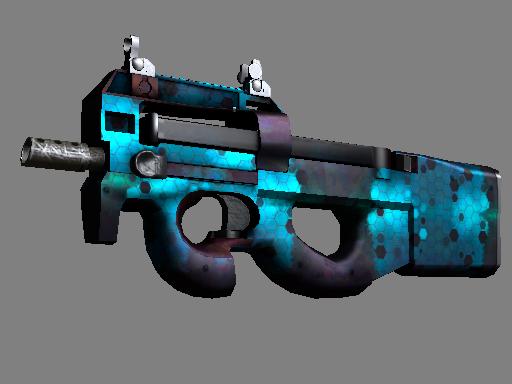 P90 | 深蓝组件 (略有磨损)P90 | Module (Minimal Wear)
