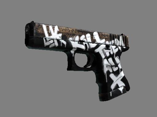 格洛克 18 型   荒野反叛 (略有磨损)Glock-18   Wasteland Rebel (Minimal Wear)