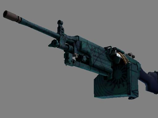 M249 | 海滨预测者 (略有磨损)M249 | Shipping Forecast (Minimal Wear)
