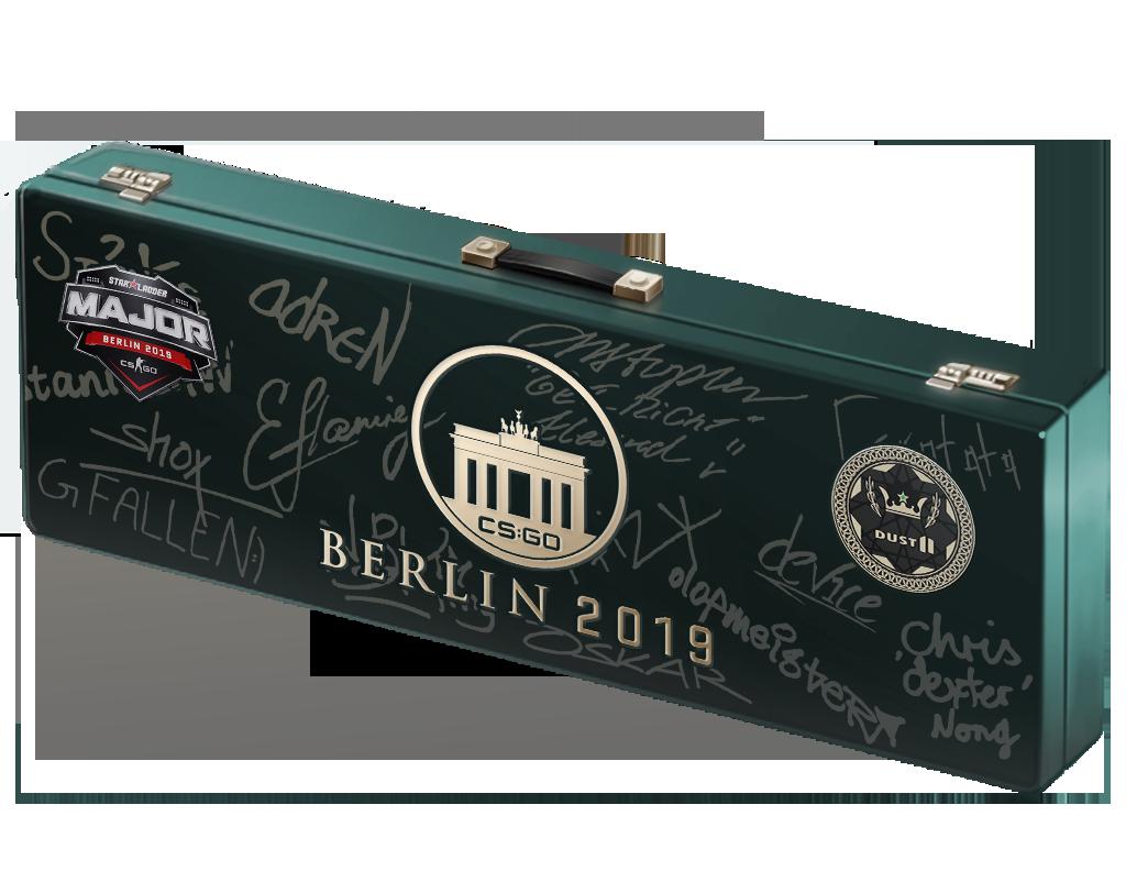 柏林 2019 炙热沙城 Ⅱ 纪念包Berlin 2019 Dust II Souvenir Package