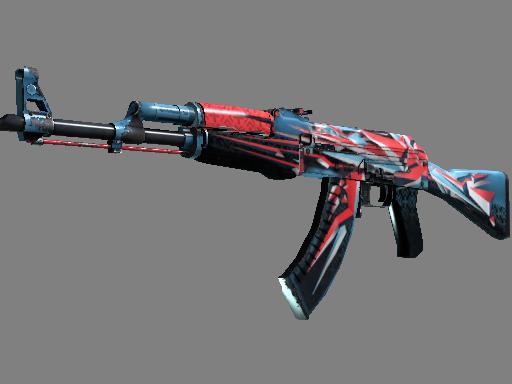 AK-47 | 混沌点阵 (久经沙场)AK-47 | Point Disarray (Field-Tested)