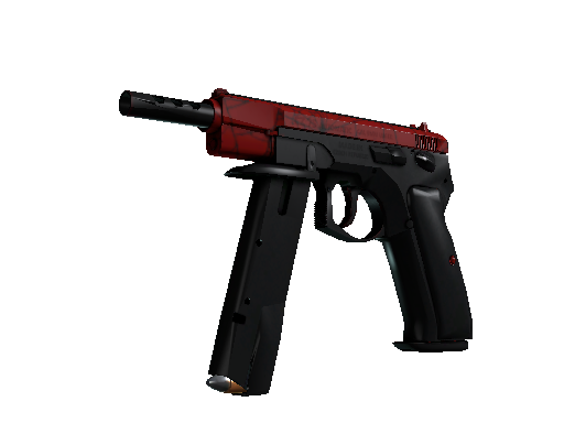 CZ75 自動手槍 | 深紅之網 (略有磨損)CZ75-Auto | Crimson Web (Minimal Wear)