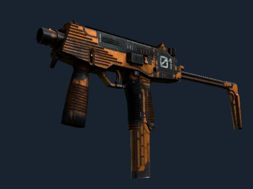 MP9 | 中度威脅 (戰痕累累)MP9 | Modest Threat (Battle-Scarred)