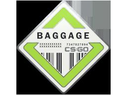 行李仓库胸章Baggage Pin