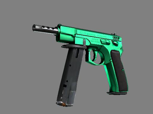 CZ75 | 翡翠色调 (崭新出厂)CZ75-Auto | Emerald (Factory New)