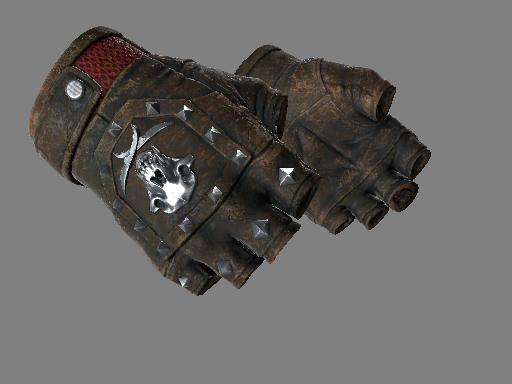 血猎手套(★) | 焦炭 (战痕累累)★ Bloodhound Gloves | Charred (Battle-Scarred)