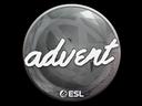 印花 | advent | 2019年卡托維茲錦標賽Sticker | advent | Katowice 2019