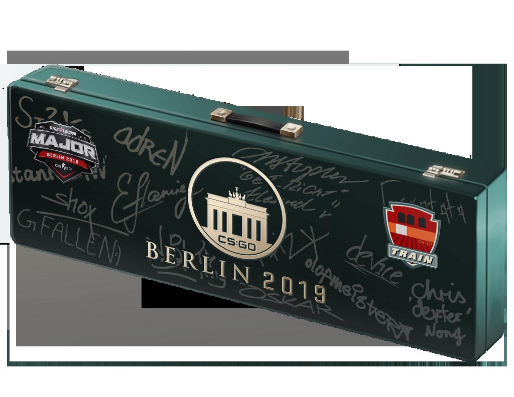 2019年柏林锦标赛列车停放站纪念包Berlin 2019 Train Souvenir Package