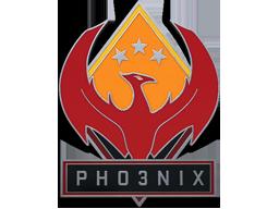 凤凰胸章Phoenix Pin