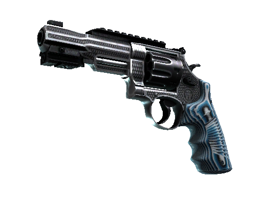 R8 左轮手枪   稳 (破损不堪)R8 Revolver   Grip (Well-Worn)