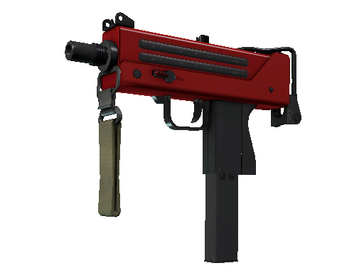 MAC-10 | 红苹果 (崭新出厂)MAC-10 | Candy Apple (Factory New)