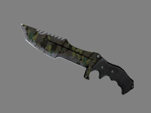 猎杀者匕首(★) | 北方森林 (战痕累累)★ Huntsman Knife | Boreal Forest (Battle-Scarred)