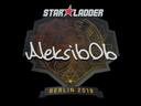 印花 | Aleksib | 2019年柏林锦标赛Sticker | Aleksib | Berlin 2019