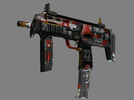MP7 | 血腥运动 (战痕累累)MP7 | Bloodsport (Battle-Scarred)