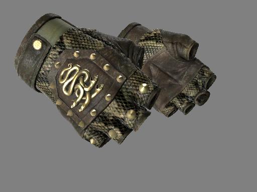 九头蛇手套(★) | 响尾蛇 (破损不堪)★ Hydra Gloves | Rattler (Well-Worn)