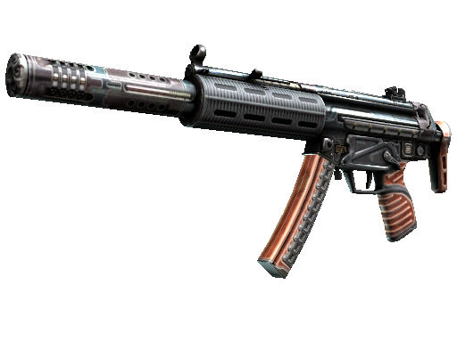 MP5-SD(StatTrak™) | 高斯 (略有磨损)StatTrak™ MP5-SD | Gauss (Minimal Wear)