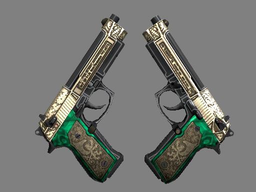 双持贝瑞塔 | 皇室伴侣 (崭新出厂)Dual Berettas | Royal Consorts (Factory New)