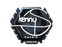 印花 | kennyS(闪亮)| 2018年伦敦锦标赛Sticker | kennyS (Foil) | London 2018