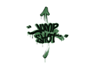 封装的涂鸦 | 跳射 (深绿)Sealed Graffiti | Jump Shot (Jungle Green)