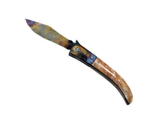 折刀(★ StatTrak™) | 表面淬火 (战痕累累)★ StatTrak™ Navaja Knife | Case Hardened (Battle-Scarred)
