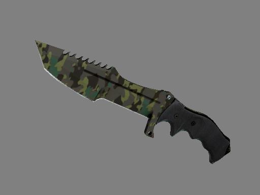 猎杀者匕首(★) | 北方森林 (略有磨损)★ Huntsman Knife | Boreal Forest (Minimal Wear)