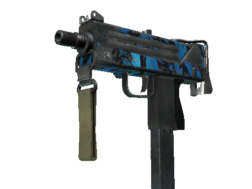 MAC-10 | 海洋 (战痕累累)MAC-10 | Oceanic (Battle-Scarred)