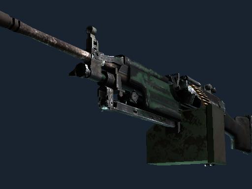 M249   狂野丛林 (战痕累累)M249   Jungle (Battle-Scarred)