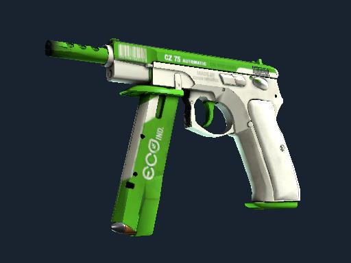 CZ75 自动手枪(StatTrak™) | 经济 (略有磨损)StatTrak™ CZ75-Auto | Eco (Minimal Wear)