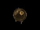 封装的涂鸦 | 八号球 (棕褐)Sealed Graffiti | 8-Ball (Desert Amber)