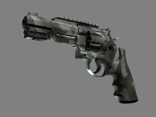 R8 左轮手枪 | 骸骨外罩 (破损不堪)R8 Revolver | Bone Mask (Well-Worn)