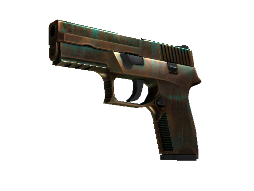P250(StatTrak?) | 銅綠 (久經沙場)StatTrak? P250 | Verdigris (Field-Tested)