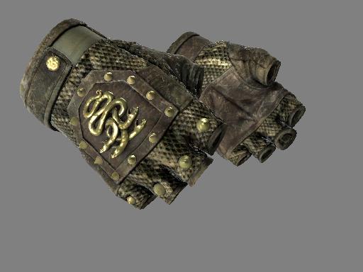 九头蛇手套(★) | 响尾蛇 (战痕累累)★ Hydra Gloves | Rattler (Battle-Scarred)