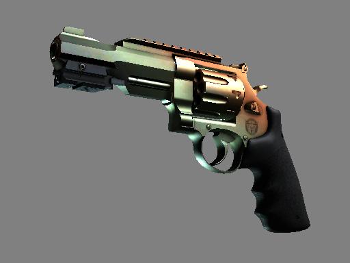 R8 左轮手枪 | 渐变琥珀 (略有磨损)R8 Revolver | Amber Fade (Minimal Wear)