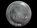 印花 | Freeman | 2019年卡托維茲錦標賽Sticker | Freeman | Katowice 2019