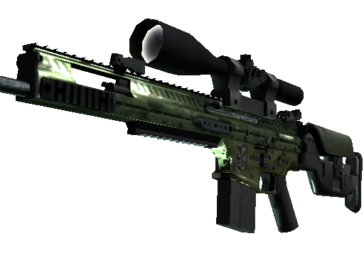 SCAR-20 | 绿色陆战队 (久经沙场)SCAR-20 | Green Marine (Field-Tested)