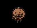 封装的涂鸦 | 露齿笑 (黄褐)Sealed Graffiti | Mr. Teeth (Tiger Orange)