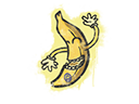 封装的涂鸦 | 香蕉Sealed Graffiti | Banana