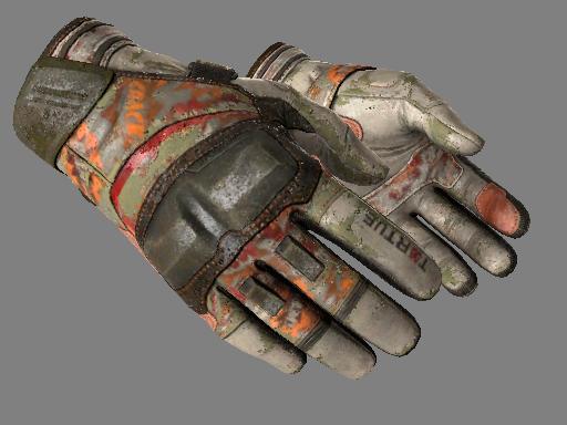 摩托手套(★) | 嘭! (战痕累累)★ Moto Gloves | POW! (Battle-Scarred)