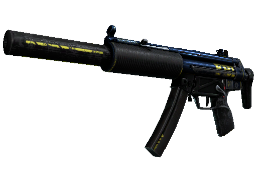MP5-SD | 探员 (战痕累累)MP5-SD | Agent (Battle-Scarred)